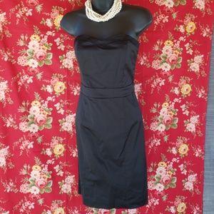 H&M LITTLE BLACK STRAPLESS DRESS *415